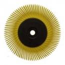 3M™ Szczotka BB-ZB, Scotch-Brite Bristle BB-ZB 152x11x25,4 P80 typ A żółty