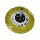 Szczotka na trzpieniu 3M™ Scotch-Brite Bristle BB-ZS 75x6x6 P80 typ C żółty