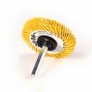 Szczotka na trzpieniu 3M™ Scotch-Brite Bristle BB-ZS 50x6x6 P80 typ C żółty