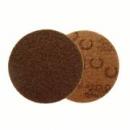 Dysk z włókniny Scotch-Brite SE-DH 127mm A CRS brązowy