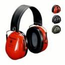 Nauszniki przeciwhałasowe 3M™ Bull's EYE II  (H520F-440) składane, czerwone  (SNR 27 dB) (H520F-440-RD)