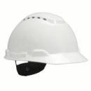 Hełm ochronny H-700 biały z wentylacją, standardowa więźba (H-700C-VI)