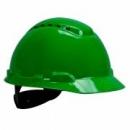 Hełm ochronny H-700 zielony z wentylacją, standardowa więźba (H-700C-GP)