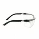 Okulary BX czarne regulowane zauszniki + przezroczysta soczewka AS-AF (11380-00000M)