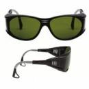 Okulary EAGLE BLACK spawalnicze AS zaciemniane 1,7  (27-3024-01M)
