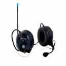 3M™ Peltor™ LiteCom WS o regulowanym tłumieniu z wbudowanym radiotelefonem PMR 446 MHz oraz modułem Bluetooth wersja nakarkowa (MT53H7B4410WS5)