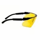 Okulary MAXIM BALLISTIC czarne zauszniki + żółta soczewka DX (13299-00000M)