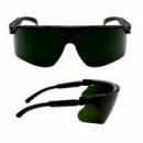 Okulary MAXIM czarne regulowane zauszniki + spawalnicze zaciemnienie 3,0 (13323-00000M)