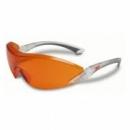 Okulary ochronne 2846 AS-AF czerwono - pomarańczowe (2846)