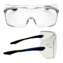 Okulary OX3000 soczewka bezbarwna DX, z niebiesko-czarnymi płaskimi zausznikami (17-5118-3040M)