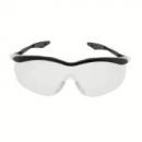Okulary QX3000 niebieskie, płaskie zauszniki, przezroczysta soczewka DX (04-1023-0140M)