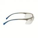 Okulary SOLUS srebrne/ niebieskie, przezroczysta soczewka AS-AF + futerał z mikrowłókien (71505-00008M)