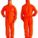 Kombinezon ochronny 4515 kategoria III, pomarańczowy typ 5/6 rozmiar L  (4515)