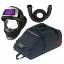 Przyłbica spawalnicza 3M™ Speedglas 9100V FX Air z wężem oddechowym  (834016) i torbą, filtr 9100V, zaciemnienie 5/8/9-13 (549005)