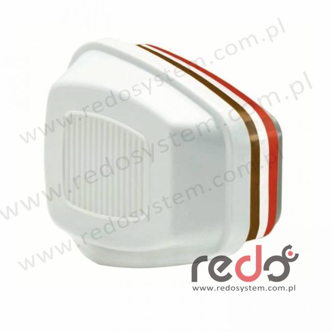 3M™ Filtropochłaniacz 6096 HgP3 przeciw parom rtęci, chloru oraz pyłom (6096)