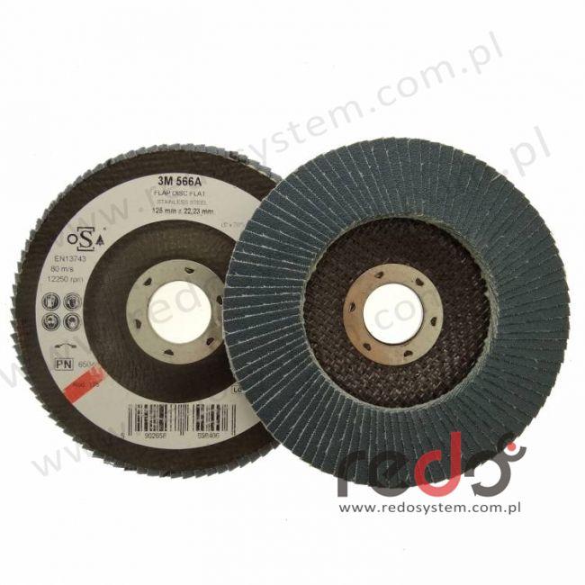 3M™ dysk lamelkowy 566A 125mm P60 (płaski)
