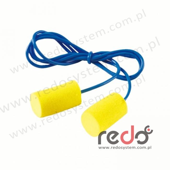 Wkładki przeciwhałasowe 3M™ CLASSIC CORDED 21 - ze sznurkiem (SNR 29 dB) (CC-01-000)