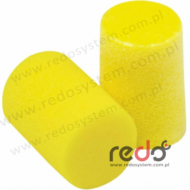 Wkładki przeciwhałasowe 3M™ CLASSIC SOFT - w pudełku (SNR 36 dB) (PP-01-800)