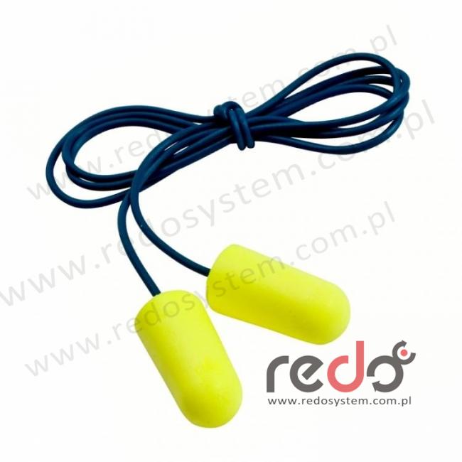Wkładki przeciwhałasowe 3M™ E-A-R SOFT - ze sznurkiem, w pudełku (ES-01-005)