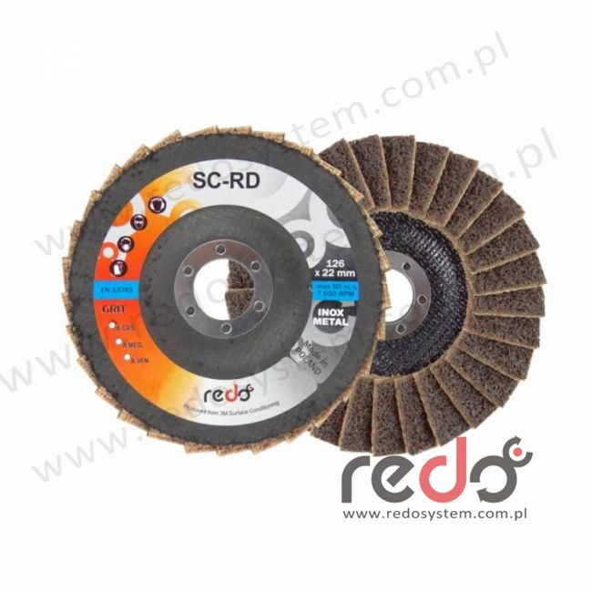 Dysk lamelkowy SC-RD 125x22 A CRS