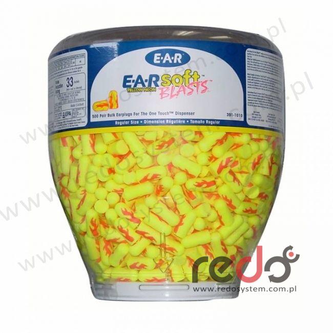 Wkładki przeciwhałasowe 3M™ E-A-R SOFT BLAST - wkład wymienny 1000 szt. (SNR 23 dB) (PD-01-003)