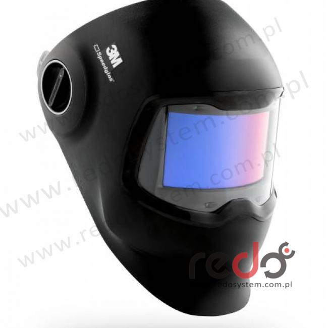 Przyłbica spawalnicza 3M™ Speedglas™ G5-02 z zakrzywionym filtrem spawalniczym, więźbą, ściereczką czyszczącą i torbą, (621120)