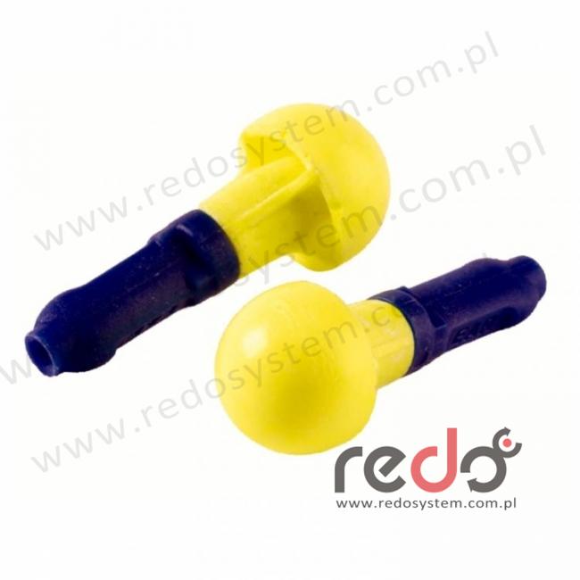 Wkładki przeciwhałasowe 3M™ Push Ins - bez sznurka (SNR 38 dB) (EX-01-021)