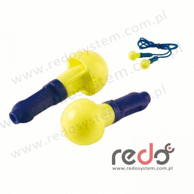 Wkładki przeciwhałasowe 3M™ Push Ins - ze sznurkiem (SNR 38 dB) (EX-01-020)