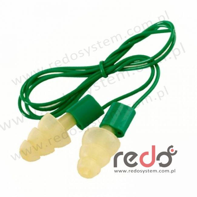 Wkładki przeciwhałasowe 3M™ Ultrafit 14 - ze sznurkiem, w pudełku (SNR 14 dB) (UF-01-015)