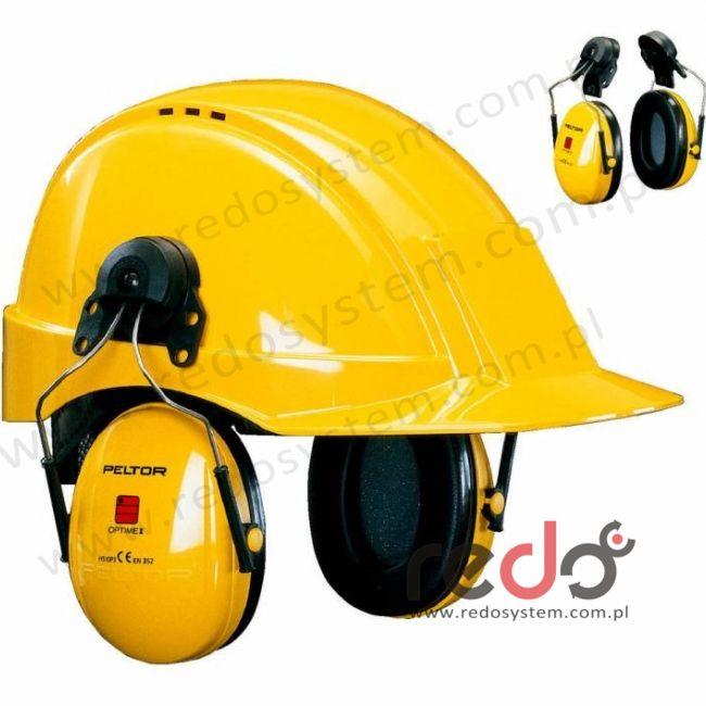 Nauszniki przeciwhałasowe 3M™ H31 wersja nahełmowa, żółte do Peltor G2000  (SNR 28 dB)