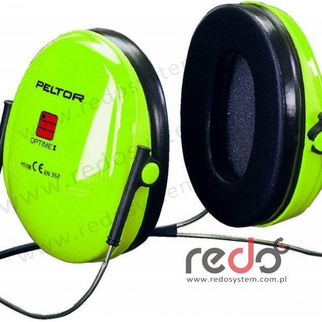 Nauszniki przeciwhałasowe 3M™ OPTIME I wersja nakarkowa, Hi-Viz  (SNR 26 dB) (H510B-471-GB)