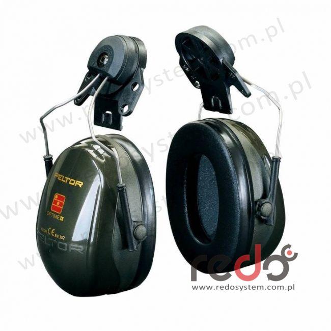 Nauszniki przeciwhałasowe 3M™ OPTIME II wersja nahełmowa do Protector Style 600  (SNR 30 dB)