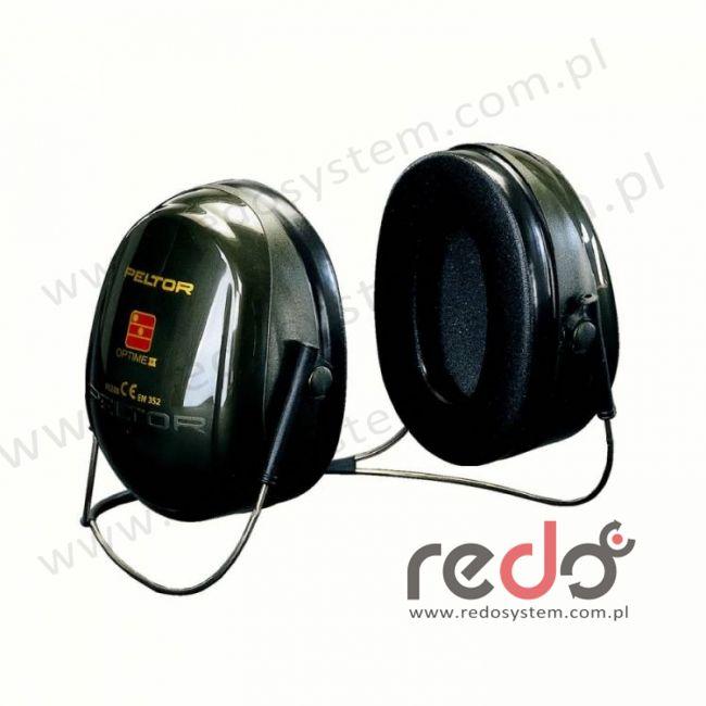 Nauszniki przeciwhałasowe 3M™ OPTIME II wersja nakarkowa  (SNR 31 dB)
