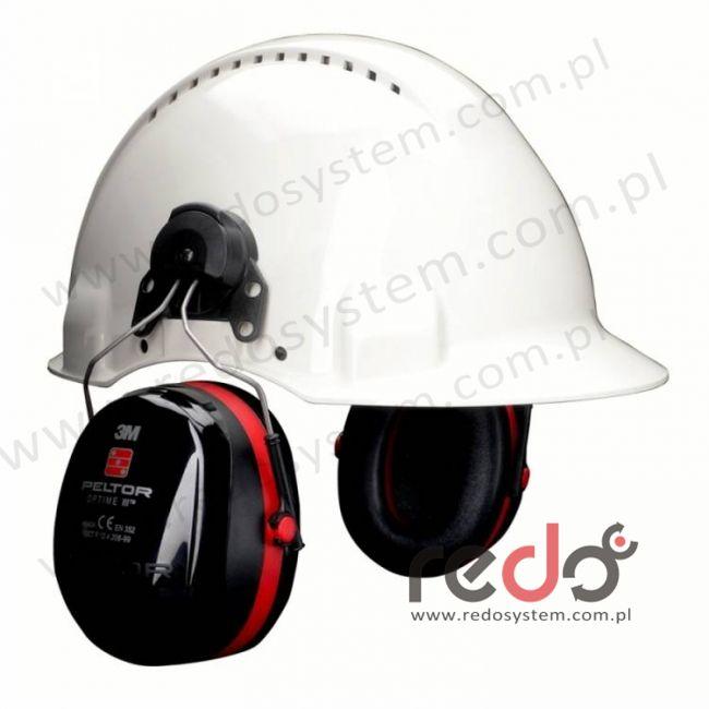 Nauszniki przeciwhałasowe 3M™ OPTIME III wersja nahełmowa Hi-Viz do Peltor G3000 (SNR 34 dB) (H540P3E-475-GB)