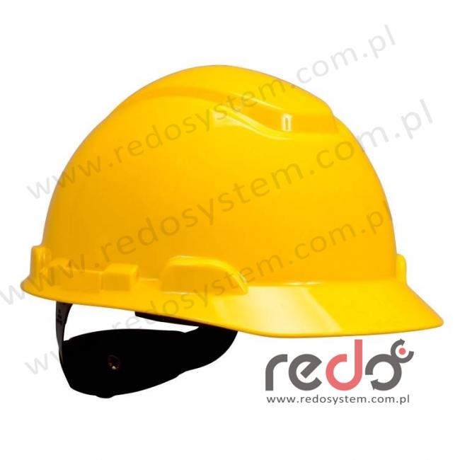 Hełm ochronny H-701 żółty