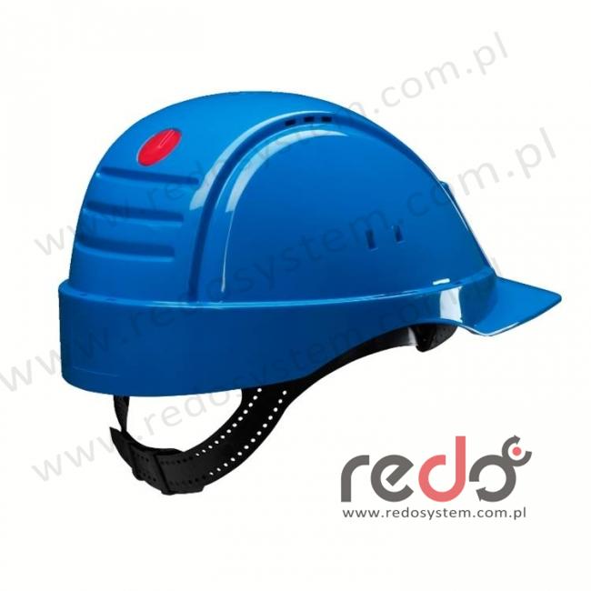 Hełm ochronny Solaris G2000 niebieski CE