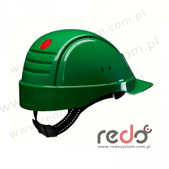 Hełm ochronny Solaris G2000 zielony CE (G2000NUV-GP)