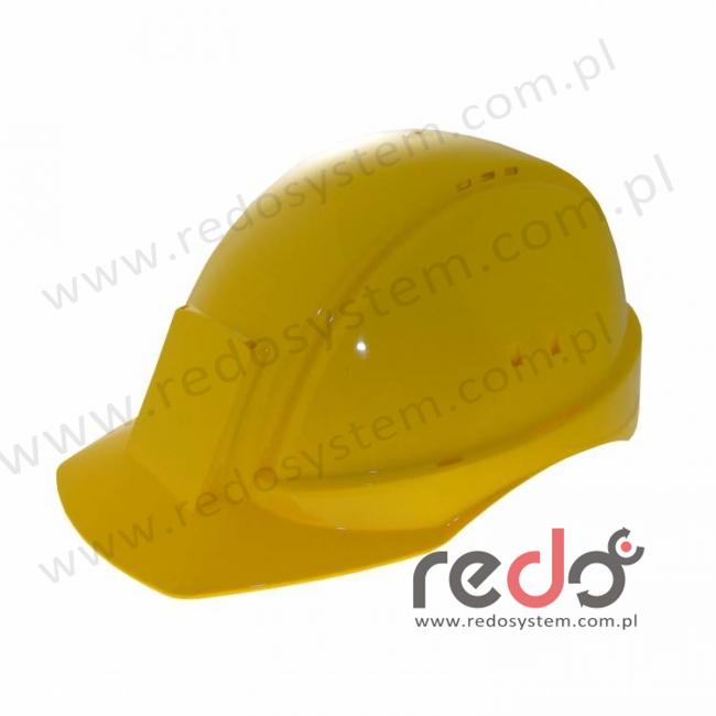 Hełm ochronny Solaris G2000 żółty CE (G2000DUV-GU)