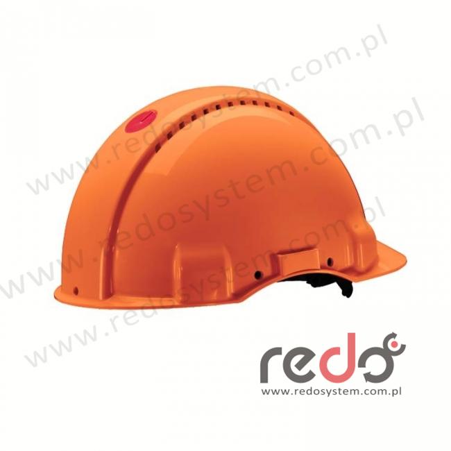 Hełm ochronny Solaris G3000 pomarańczowy (G3000CUV-OR)