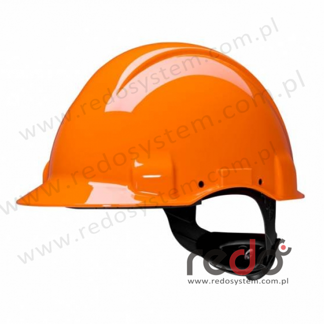 Hełm ochronny Solaris G3001 1000V, pomarańczowy