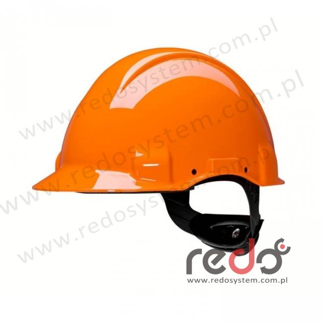 Hełm ochronny Solaris G3001 pomarańczowy (G3001CUV-OR)