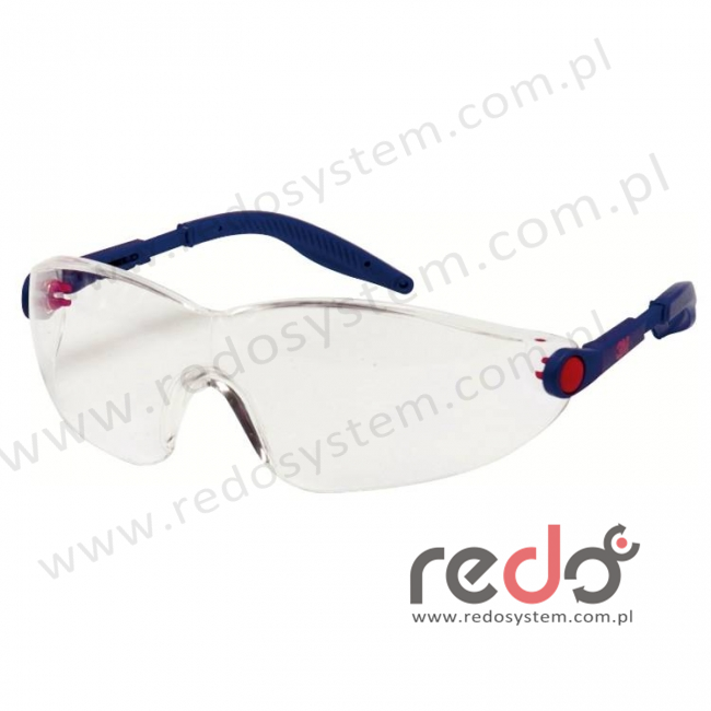 Okulary ochronne 2740 przezroczyste AS-AF
