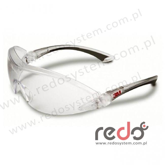 Okulary ochronne 2840 przezroczyste AS-AF