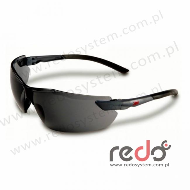 Okulary ochronne 2821 szare AS-AF