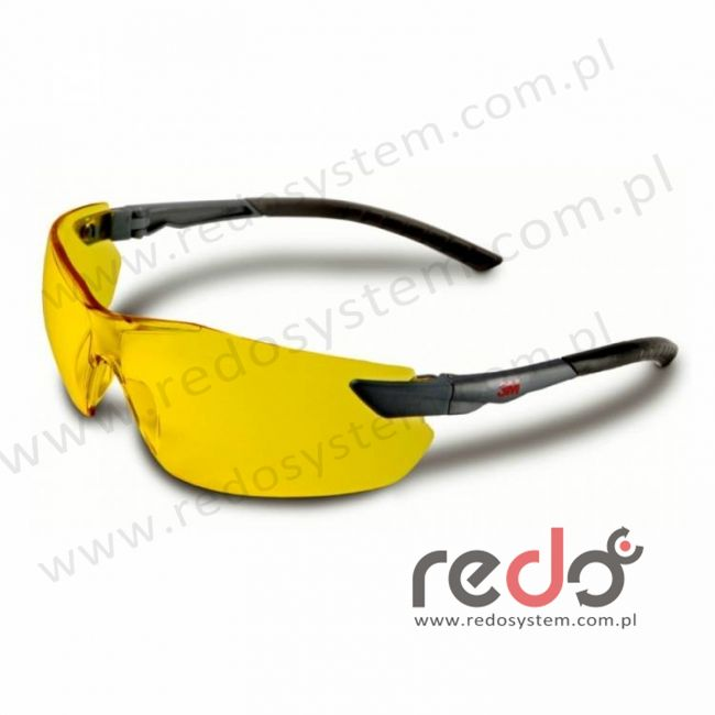 Okulary ochronne 2822 żółte AS-AF