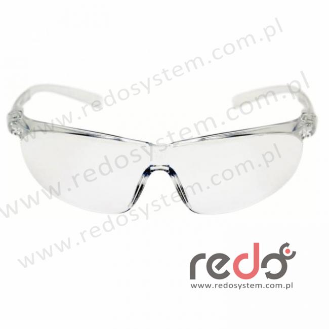 Okulary TORA przezroczyste AS-AF ze sznurkiem