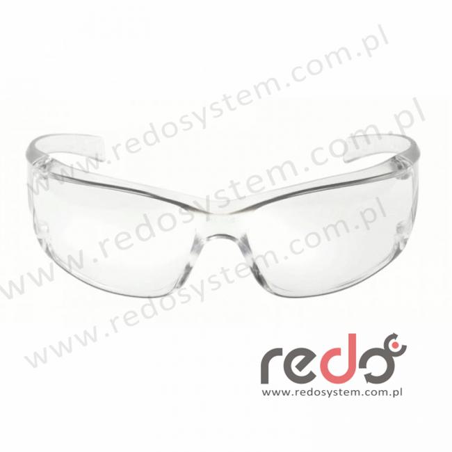 Okulary VIRTUA PC bezbarwne, oprawka bezbarwna, powłoka AS (71500-00001M)