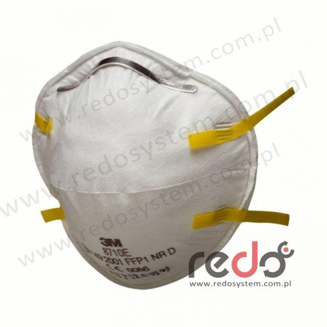 Półmaska filtrująca 3M™ 8710E, kopułkowa bez zaworu wydechowego klasa FFP1 4xNDS (8710E)