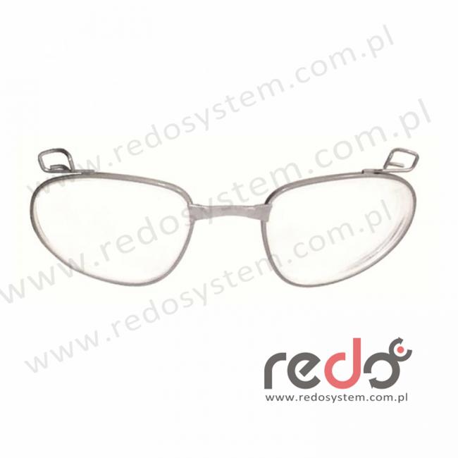 Wkładki RX do okularów Maxim, soczewka korekcyjna, metalowa oprawka