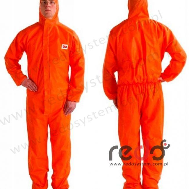 Kombinezon ochronny 4515 kategoria III, pomarańczowy typ 5/6 rozmiar M